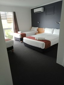 All rooms are air conditioned and have flat screen TVs